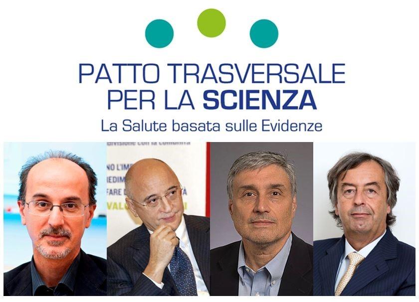 EVENTO DI LANCIO DEL PATTO TRASVERSALE PER LA SCIENZA