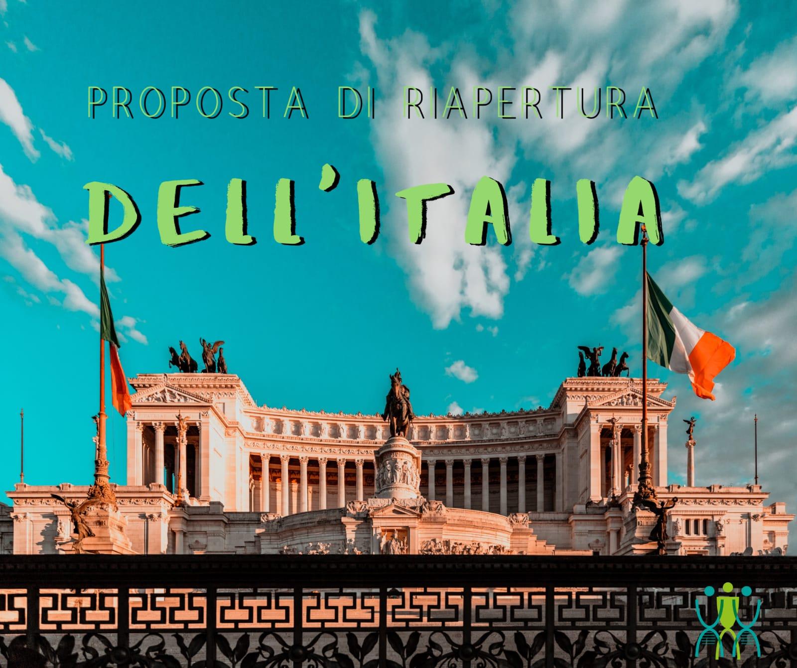 PROPOSTA PER RIAPRIRE L'ITALIA